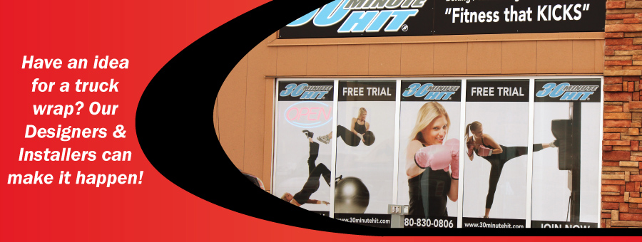 Have an idea for a truck wrap? Our Designers & Installers can make it happen!